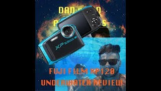 Underwater review of the fujifilm finepix xp120 DAD n LAD