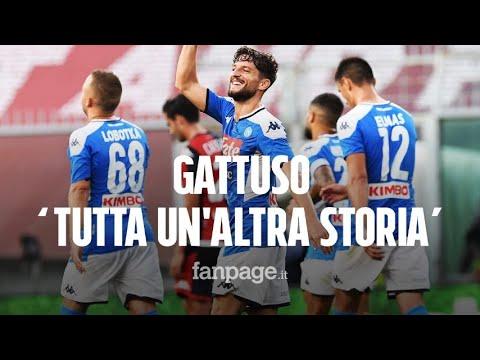 Genoa-Napoli 1-2, con Gattuso tutta un'altra storia: vittoria azzurra a Marassi