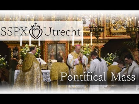 (✔) Reconciliation Mass of St. Willibrord - SSPX Utrecht