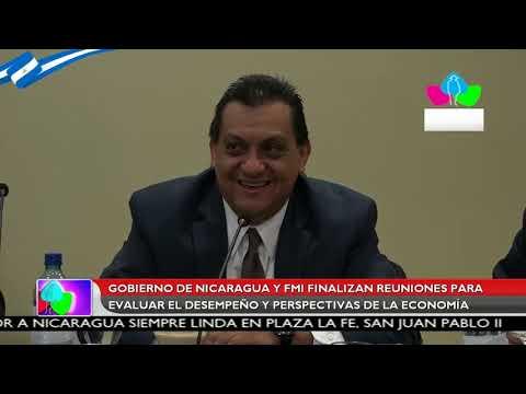 Gobierno de Nicaragua y FMI finalizan reuniones para evaluar el desempeño de la economía