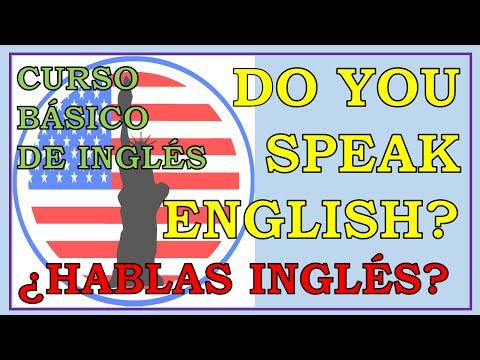 Que significa en español can you speak english