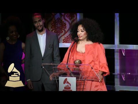 Diana Ross accepting Lifetime Achievement Award at Special Merit Awards | GRAMMYs