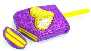 Пластилин для детей. Лепим мороженое из пластилина Плей-до. Игрушкин ТВ