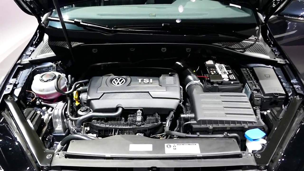 New 2018 Volkswagen Golf Gti Engine Bay Tour - 2 0l Turbo I4 - 2017 La Auto Show