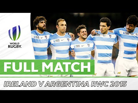 Rugby World Cup 2015: Ireland V Argentina