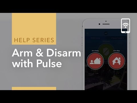 Arm & Disarm your System using ADT Pulse
