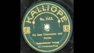 Gustav Schönwald - Du hast Diamanten und Perlen