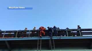 人命救助 レスキュー の 一部始終 ガス橋
