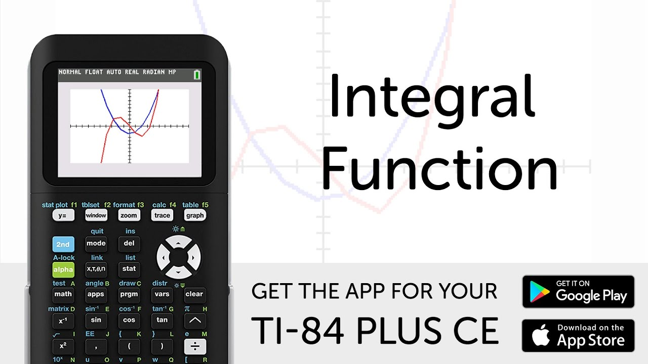 integral function manual for ti 84 plus ce graphing calculator rh youtube com texas instruments ti-85 calculator manual texas instruments ti-85 calculator manual