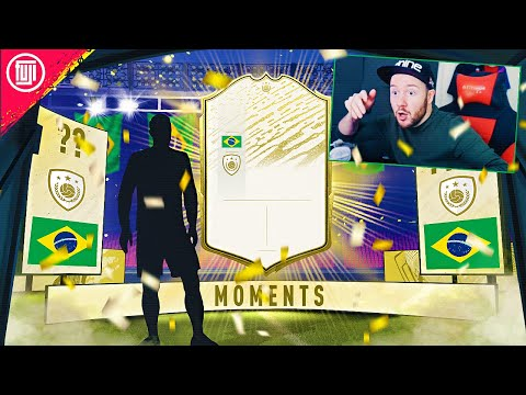 ABSOLUTELY INSANE ICON MOMENTS IN A PACK!!!! - FIFA 20 Ultimate Team