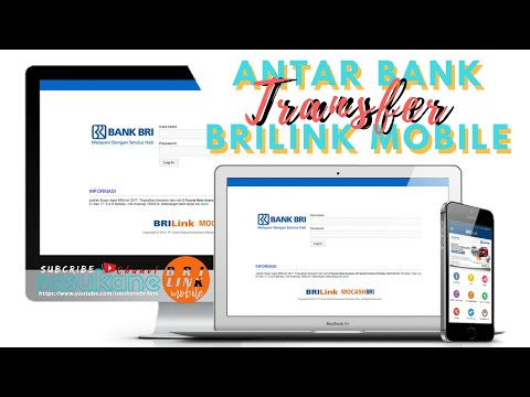 Transfer Antar Bank melaui BRILink Mobile
