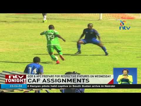 Gor, AFC intensify preparations for respective CAF fixtures