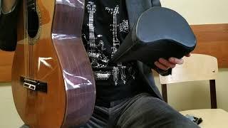 Обзор и сравнение 3-х гитарных суппортов (подставка для гитары на колено)