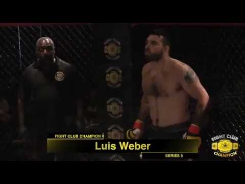 Fight Club Champion MMA Fighting Series #6-Lucas Weber vs Marcus Chin
