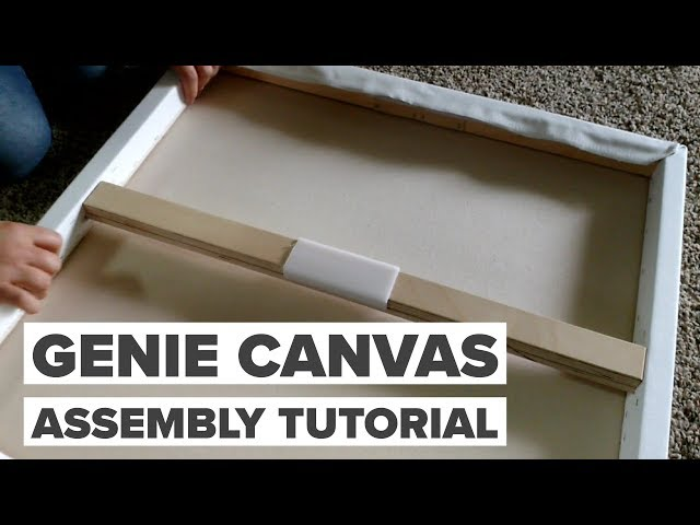 Genie Canvas Assembly Tutorial