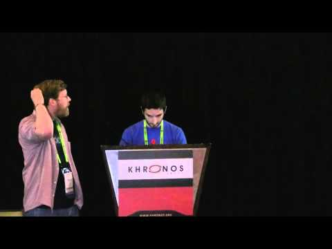Siggraph 2012 - The Khronos Group WebGL BOF