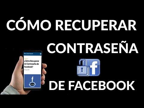 Cómo Recuperar Contraseña de Facebook