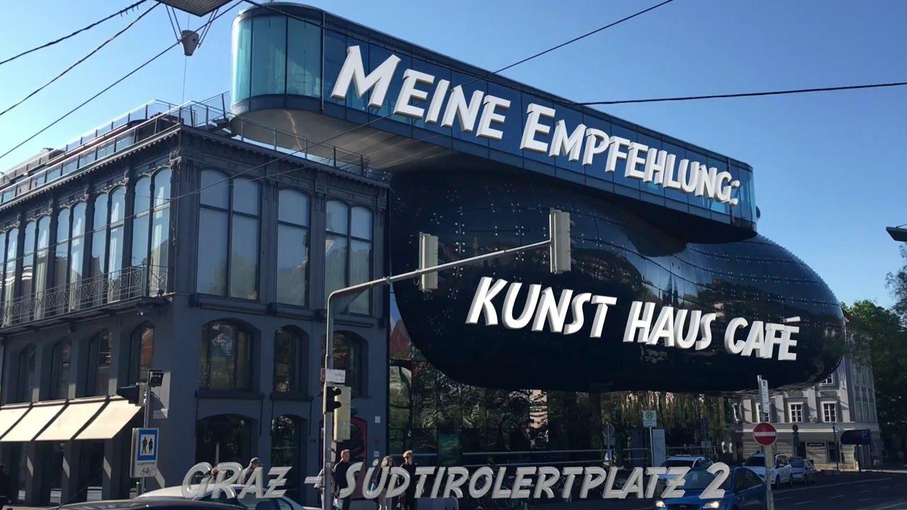 I love Kunst Haus Cafe Graz - YouTube
