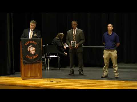 Uxbridge High School - Educator of The Year Award 2019 - Michael Smutok
