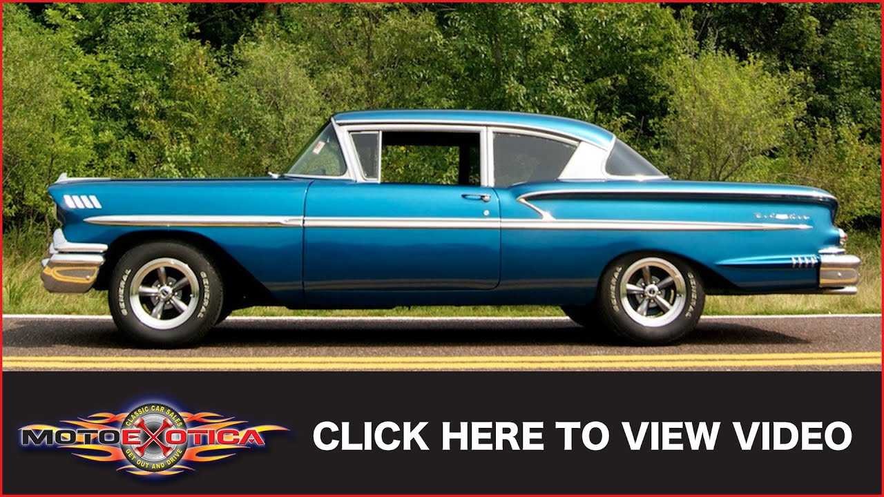 1958 Chevrolet Bel Air (SOLD) - YouTube