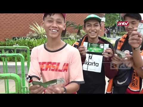 Suasana GBK Jelang Laga AFC Persija vs Becamex Binh Du'o'ng