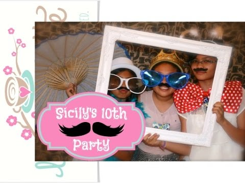 Girl's 10th Birthday Mustache Party (Prep) Part 1 of 2 {Party Ideas}