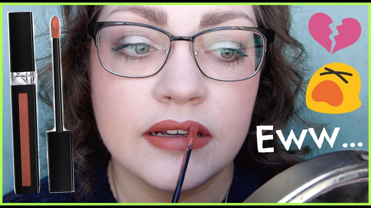Let\'s Test!: DIOR Rouge Dior Liquid Lipstick - YouTube