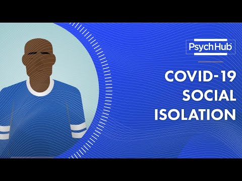 COVID-19: Tips for Managing Social Isolation