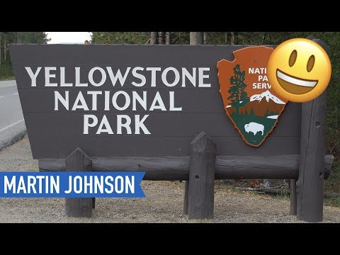 Our First Day in Yellowstone National Park   American Road Trip