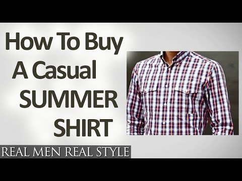 how-to-buy-a-casual-summer-shirt---buying-hot-weather-button-down-shirts-for-men