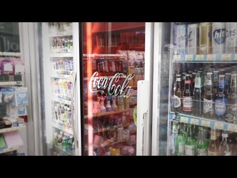 TRANSLOOK® The World 1st Refrigerator Door with Transparent LCD Display