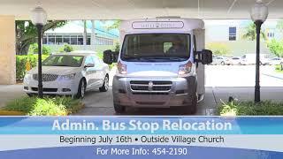 7 13 18 New Church Bus Drop