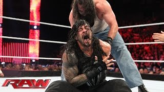 Roman Reigns vs. Luke Harper: Raw, July 20, 2015