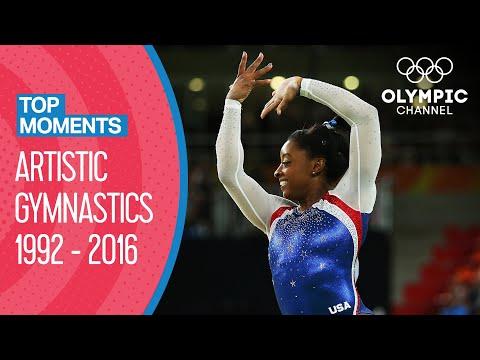 Women's Artistic Gymnastics Teams - Champions 1992 to 2016 | Top Moments