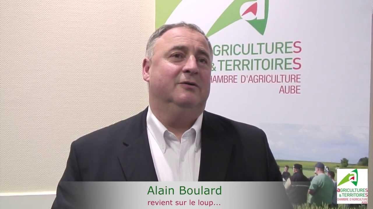 Alain boulard chambre d 39 agriculture de l 39 aube du 22 11 - Chambre d agriculture 22 ...