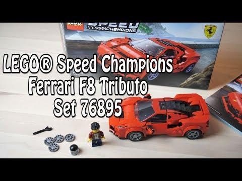 LEGO Speed Champions 2020 und Review Ferrari F8 Tributo (Set 76895)
