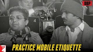 'Practice Mobile Etiquette' in association with PVR - Detective Byomkesh Bakshy