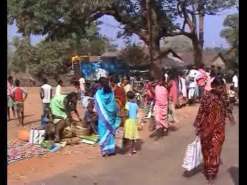 Orissa, Bonda tribe, local market