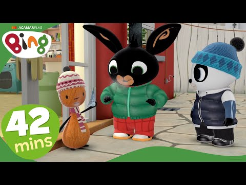 Bing - Festive Show: Dragon Breath and Jingly Shoes | Compilation | Cartoons For Kids | Bing Bunny