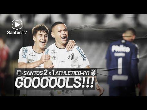 SANTOS 2 X 1 ATHLETICO-PR | GOLS | BRASILEIRÃO (06/07/21)