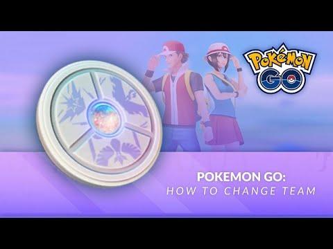 Pokémon GO| Team Medallion| How To Change Teams