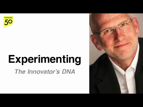Innovator's DNA Video Series: Experimenting