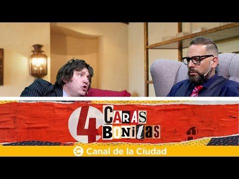 "<h3 class=""list-group-item-title"">El consultorio de Milei en 4 Caras Bonitas</h3>"