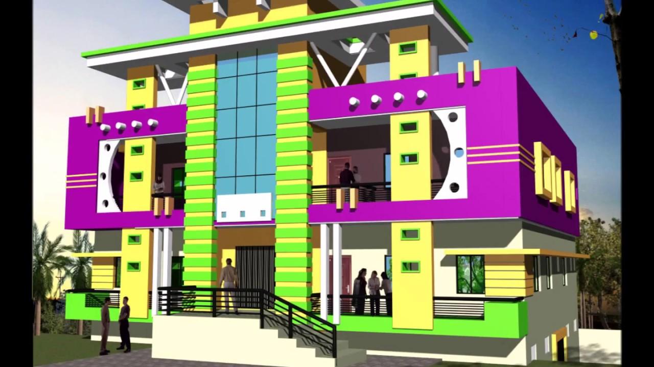 House Outside Colour Combination