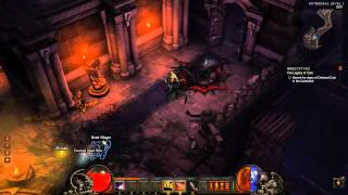 Diablo 3 Beta - Demon Hunter gameplay - pt2