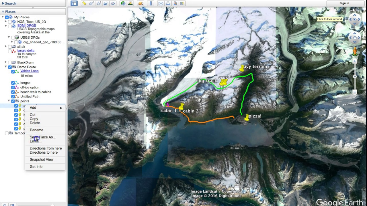 Navigation with Gaia GPS (Deprecated) – Things To Luc At