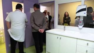Inauguration des urgences de la policlinique