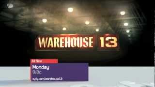 Warehouse 13 season 4 recap/promo trailer