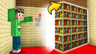 I Built A SECRET ROOM With MODS In My FRIENDS HOUSE! (Minecraft)