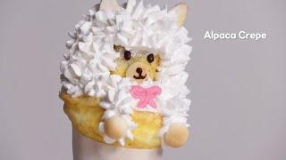 어딘가 부족한 알파카 크레페 만들기 Alpaca Crepe Recipe